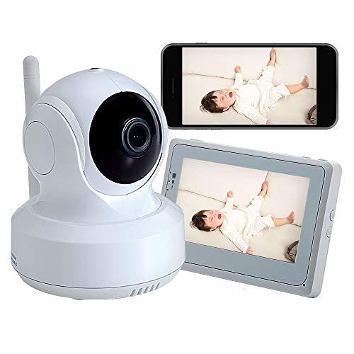 トリビュート デュアルタイプベビーカメラ スマホと専用モニターの両方が使える2in1のベビーモニター [スマホ対応] 39万画素 BM-DW01