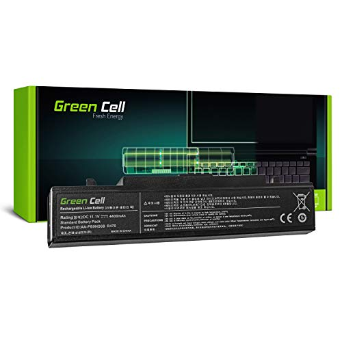 Green Cell Standard Series Battery for Samsung NP300E5A NP300E5C NP300E5E NP300E7A NP300V5A NP305E5A NP305E7A NP305V5A NP310E5C Laptop (6 Cells 4400mAh 11.1V Black)