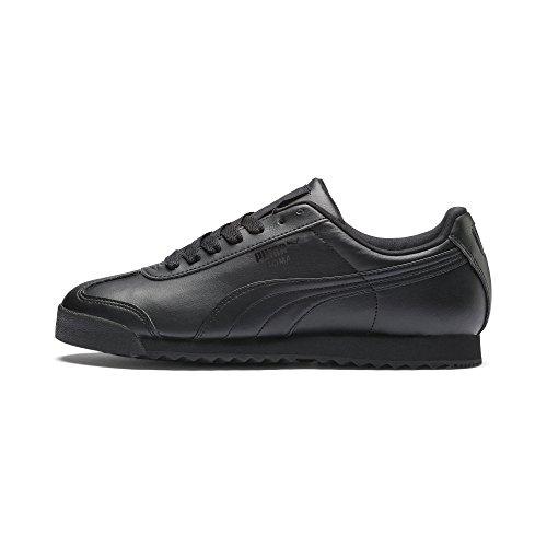 Puma Roma Basic, Zapatillas Deportivas Unisex Adulto, Negro(Black/Black), 42 EU