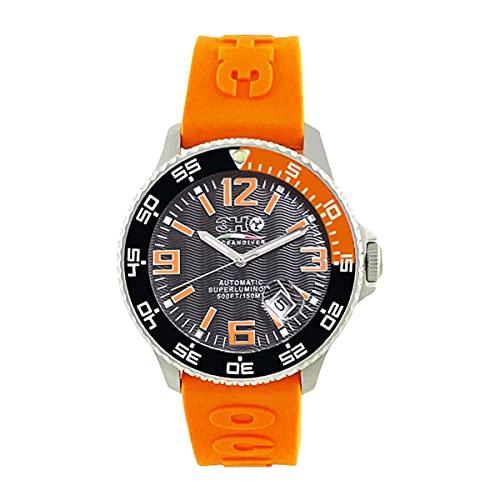3H Italia Watches Oceandiver - Reloj automático para hombre Sub 15 atm
