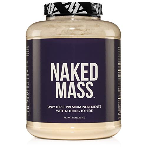 Naked Mass Natural Weight Gainer Protein Powder Review