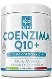 Piulife® Coenzima Q10+ ● 120 Cápsulas de Coq10 de 200 Mg de Dosis Alta ● Protección Contra los Radicales Libres con Ubiquinona ● Acción Antioxidante Eficaz, Proporciona Energía y Fuerza