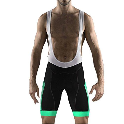 Uglyfrog Ciclismo Hombres Bib Pantalones Cortos de Ciclismo Hombres Transpirable para Ciclismo Correr MTB o Deportes al Aire Libre