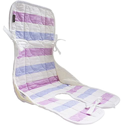 pasima パシーマ ベビー チャイルドシートパッド 約30 75 cm 綿100% 赤ちゃん ガーゼ 脱脂綿 キルト 日本製 (クール)