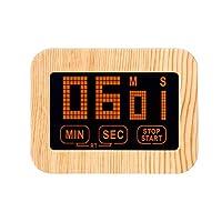 Ammbous キッチン/学習用デジタルタイマー&ストップウォッチ(99分) 大画面 大型アラーム マグネットスタンド/インビジブルホルダー