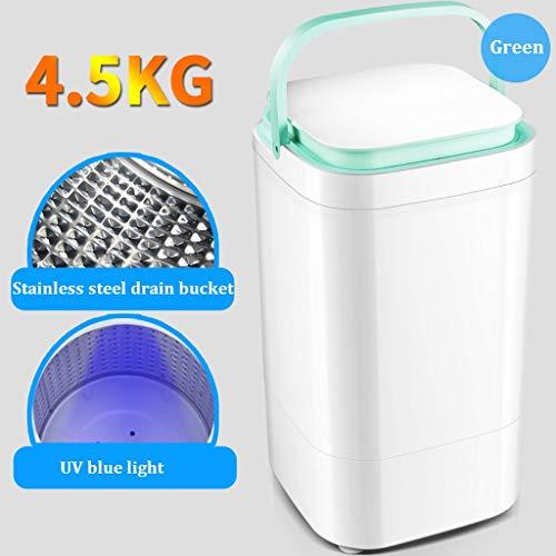 ZRWZZ Single Barrel Semi-automatische Wasserij Kleine Baby Kind, Mini Wasmachine Wasbaar 4 Sets Huishoudelijke Slaapzaal Wasmachine 4,5 kg Capaciteit