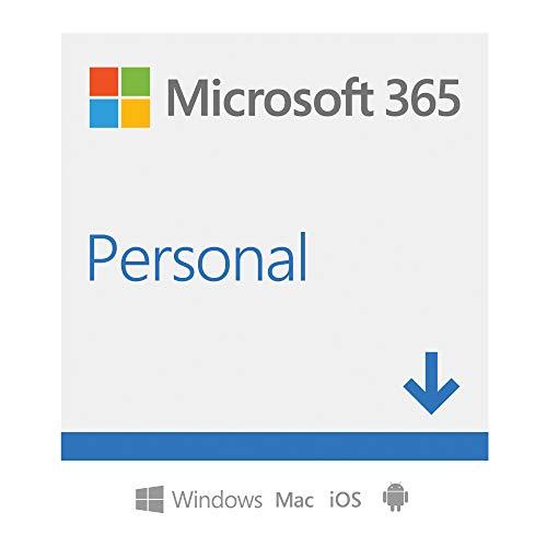 Microsoft 365 Personal | 1 abbonamento annuale | PC Mac | Codice di attivazione via email