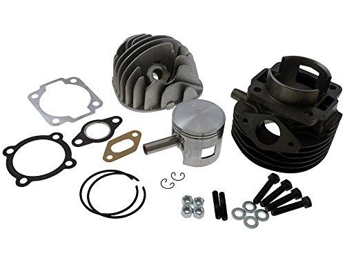 Polini Kit cylindre sport en fonte grise 102 cm3 55 mm pour Vespa PK 50 XL2 90-97 V5X3T