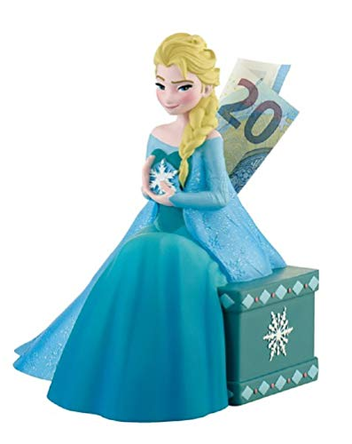 for-collectors-only Frozen Spardose ELSA Figur Sparbüchse Disney Frozen II Coin Box Sparschwein Sparkasse Frozen 2 Die Eiskönigin Sammlerfigur