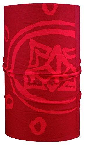 4 Fun Sport Sun Standard Écharpe Taille Unique Red