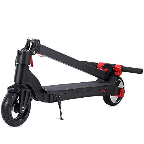 doogoo Elektro Scooter E-Roller 250 Watt E-Motor, Faltbar City e-Scooter 23 km/h, 20km Reichweite mit LCD Bildschirm Elektroscooter für Jugendliche Erwachsene Schwarz