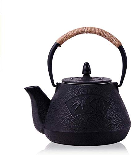 Tea Pots Cast Iron Teapot Cast Iron Pot of Specials to Raise Pig Iron Pot of Old Pot of Uncoated Teapot Boiling Kettle by Hand