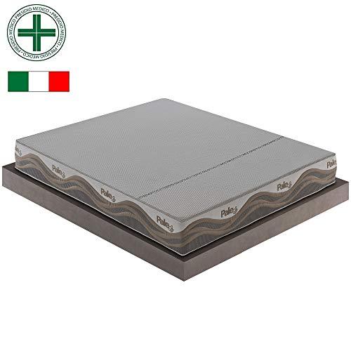 Materasso Pale in Memory Foam e micromolle con Tessuto Termosensitive 9 Zone (180x200)