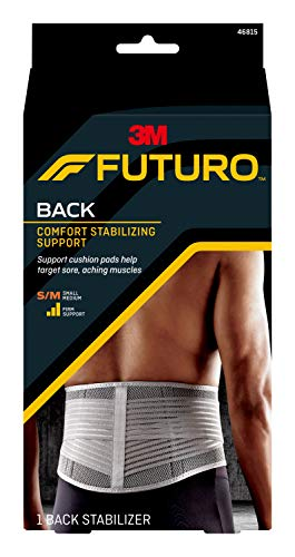 FUTURO-46815EN Comfort Stabilizing Back Support, Ideal for Everyday Activities, Small/Medium