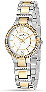 Chronostar R3753247512 Desiderio  Year Round Analog Quartz Silver Watch