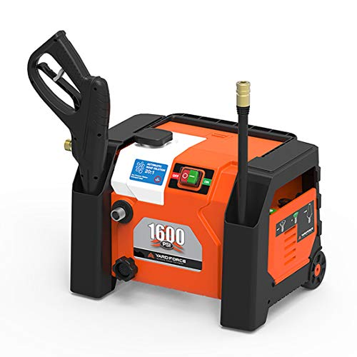 YARD FORCE YF1600A1 1600 Psi Compact Electric Pressure Washer