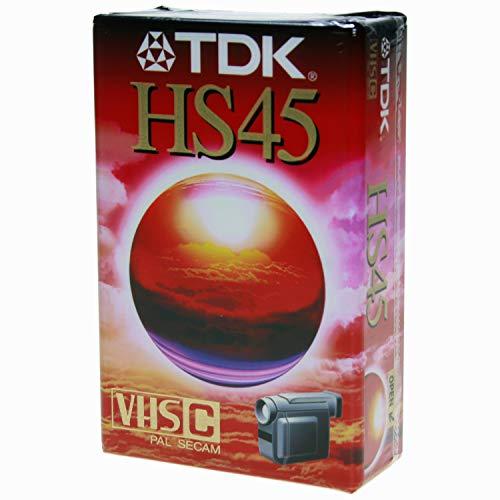 TDK 45HS Video Cassette 45 min 1 Pieza(s) - Cinta de Audio/Video (45 min, 1 Pieza(s))