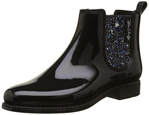 Be Only Damen Nashville Glitters Noir Chelsea Boots, Schwarz, 39 EU