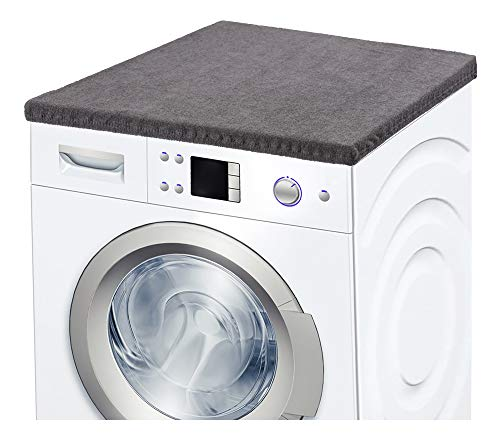 Ladeheid Waschmaschinenbezug Frotteebezug 50x60 cm (Graphite)
