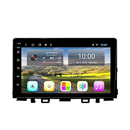 Autoradio Radio Lettore DVD adatto per Kia RIO 2016-2018 GPS Stereo Head Unit Capacitive Touch HD Carplay Radio Multimedia Sistema radio integrato Tracker