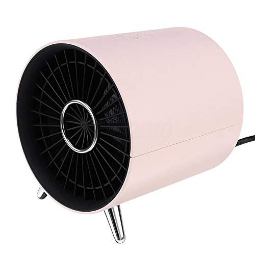 NIUFG 1360W Calentador eléctrico portátil Ventilador de Escritorio Personal de cerámica Punta del Calentador, protección contra sobrecalentamiento y Apagado automático para la Oficina en casa