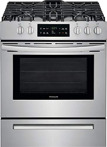 Frigidaire FFGH3054US 30 Inch Freestanding Gas Range with 5 Burners, Sealed Cooktop, 5 cu. ft....