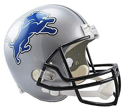 Riddell NFL Detroit Lions Full Size Speed Replica Football Helmet