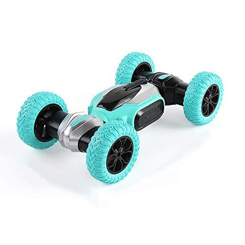 WZRYBHSD Coche De Juguete De Alta Velocidad Para Acrobacias Con Tracción En Las Cuatro Ruedas Coche De Juguete De Alta Velocidad Rotación De 360 grados Juguete Para Niños Elegante Carreras Con Tracc