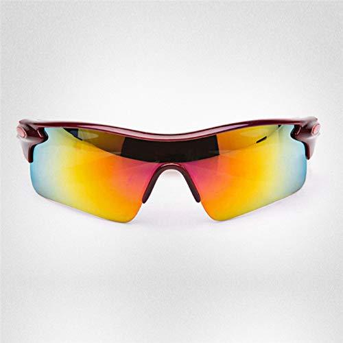 anruo Fietsbril unisex outdoor zonnebril fiets fiets sport zonnebril rijbril