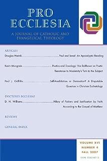Best pro ecclesia journal Reviews