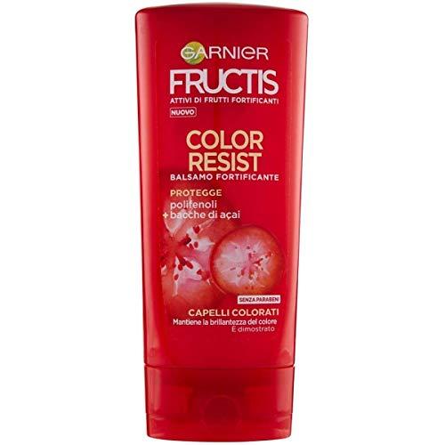 Garnier Fructis Color Resist Balsamo per Capelli Colorati, 200 ml