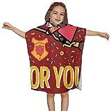 Toalla absorbente con capucha para niños, de Harry Potter