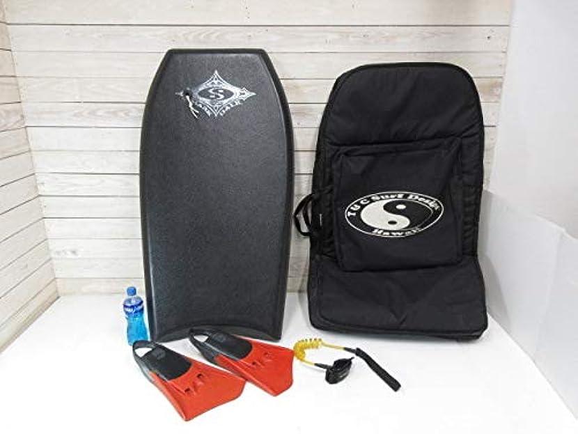 キリストスプレー失礼XE483アメリカ タウン&カントリー ボディボード ボード ケース付 1050mm / USA フィン付 リーシュ付 ボードケース付引取可