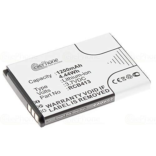 cellePhone Akku Li-Ion kompatibel mit Doro Primo 406 413 414 (Ersatz für RCB413 / RCB01P01)