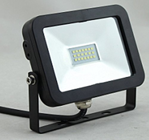 ChiliTec LED-Fluter Slimline 10W, 12-24V=, IP65, 750 Lumen, 4000K, neutralweiß