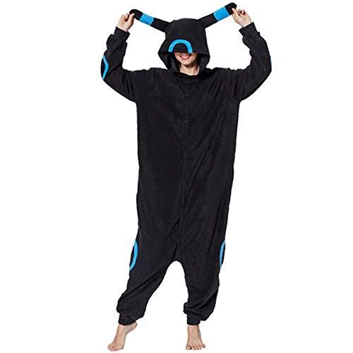 WJCRYPD Pijamas Nuevo Enlace De Partido Bodies Invierno Animal Adulto Fox Caliente Trajes De Pijama De Dibujos Animados del Mono Capucha De La Navidad Qf Shop (Color : 3, Size : XL(180-190cm))