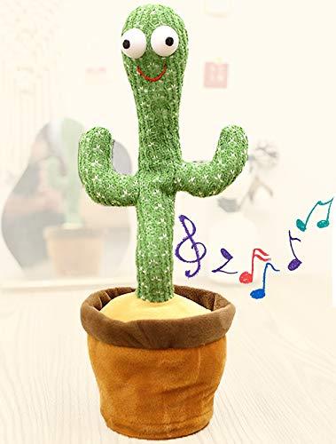 RSTJ-Sjap Los Juguetes De Peluche Bailando Cactus, Torcedores De Cactus, Pueden Torcerse/Puede Cantar/Bailar/Pueden Usarse como Regalo De Cumpleaños