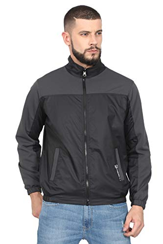 VERSATYL Sports and Casual Stylish Track Jacket for Men and Women (Size-L) Grey