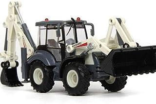 1:50比例壓鑄拖車清障車道路模型模型施工車輛推土機,挖掘機,卡車,壓路機,叉車,雙向鏟運機(顏色:雙向挖掘機)