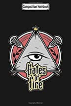 Composition Notebook: Gates Of Fire Illuminati Lacrosse Notebook 2020 Journal Notebook Blank Lined Ruled 6x9 100 Pages