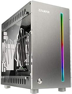 Zalman Z-Machine 300 Mini-ITX - Caja, color plateado