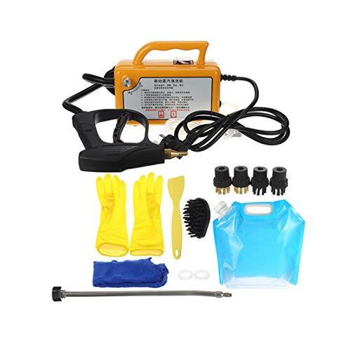 Limpiador De Vapor De Alta Temperatura, 220V, 2800W, Para Campana, Aire Acondicionado, Herramienta De Cocina, Humeante, Máquina De Limpieza,Amarillo