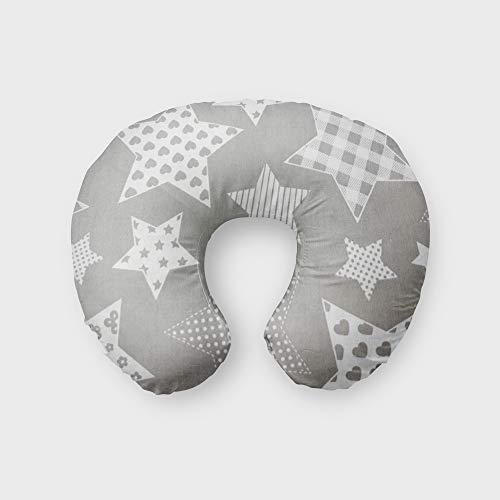 Cojín de lactancia para dormir de lado, con funda de cojín de lactancia, 100% algodón