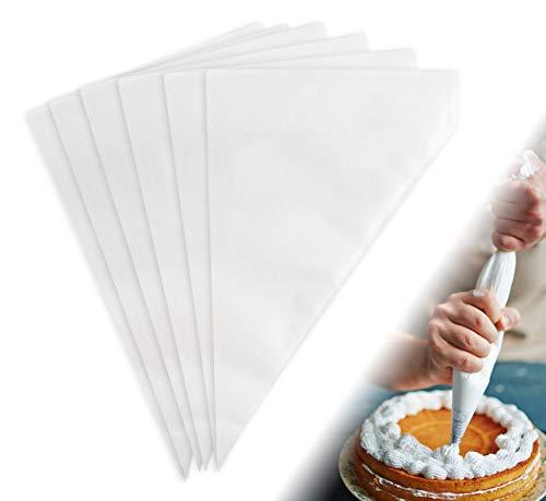 BoloShine Bolsas Desechables para Pasteles, 100 Piezas Bolsas de Pastelería Mangas, Profesional DIY Decoración de Pasteles Herramientas para PastelesGalletas