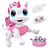 Power Your Fun Robo Pets Unicorn Toy for Girls and Boys - Remote Control Robot Pet Toy with Interactive Hand Motion Gestures, Walking and Dancing Robot Unicorn Kids Toy