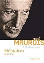 Mémoires d'André Maurois