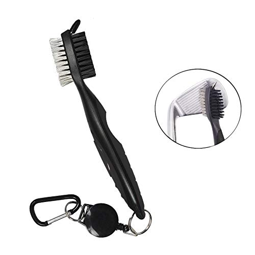 halomy Brosse de Golf Golf Club Brush and Club Groove...