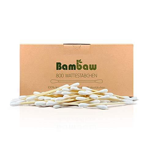 800 Bambus Wattestäbchen - Bambaw
