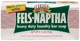Fels-Naptha Heavy Duty Laundry Bar Soap 5.5oz.(pack of 4)