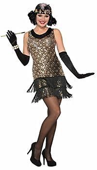 Forum Women s Roaring 20 s Flapper Costume Multi/Color Medium/Large